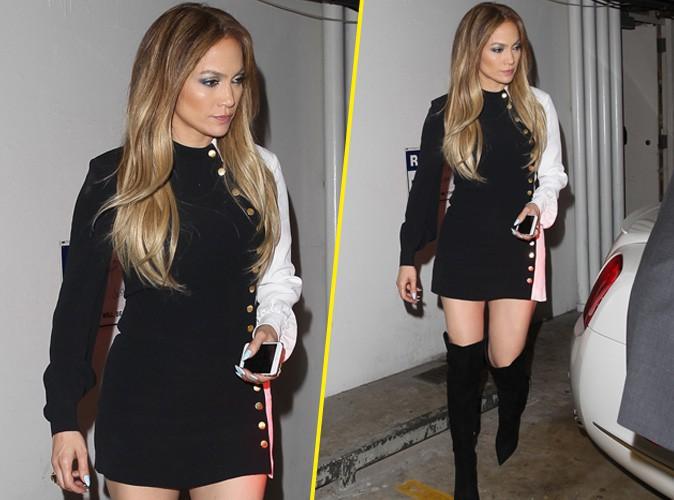 Jennifer Lopez : elle sort les cuissardes pour une nouvelle apparition canon !