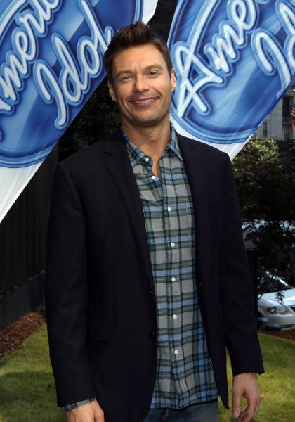 Ryan Seacrest lors des auditions d'American Idol à Atlanta, le 30 octobre 2013.