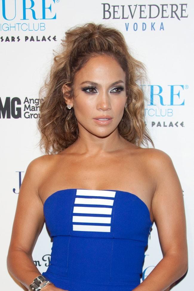 Jennifer Lopez le 18 août 2012 à Las Vegas