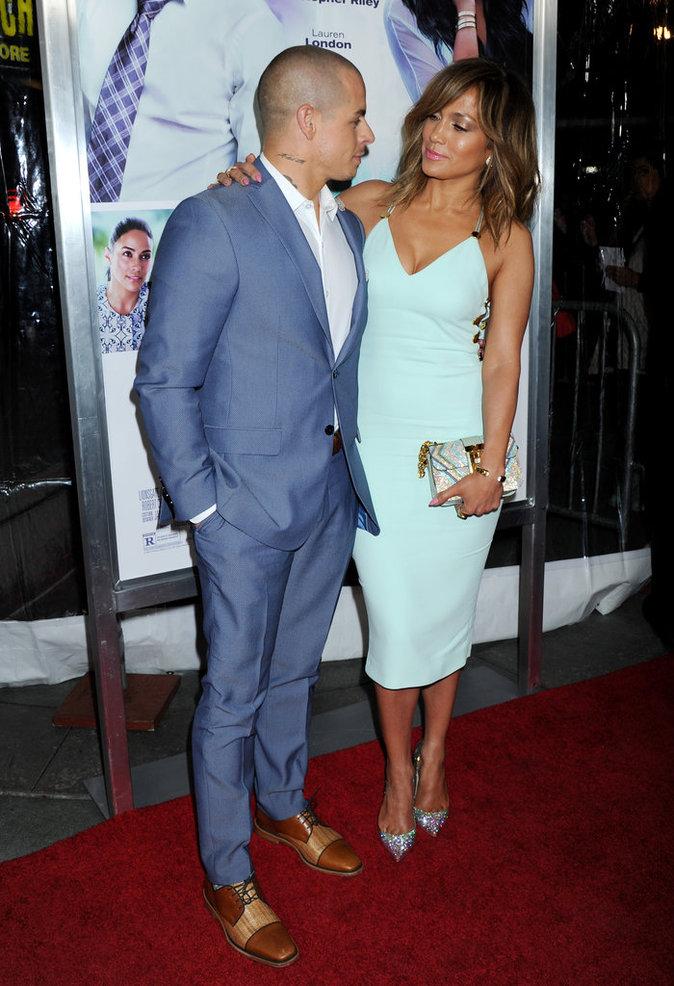 Jennifer Lopez et Casper Smart : amoureux et complices pour l'avant premi�re de