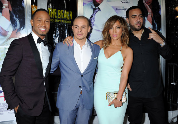 Terrence, Jennifer , Casper et French Montana