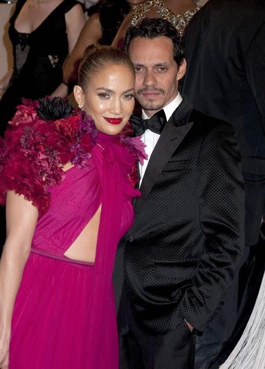 Jennifer Lopez et Marc Anthony lors du MET Ball Gala à New York, le 3 mai 2011.