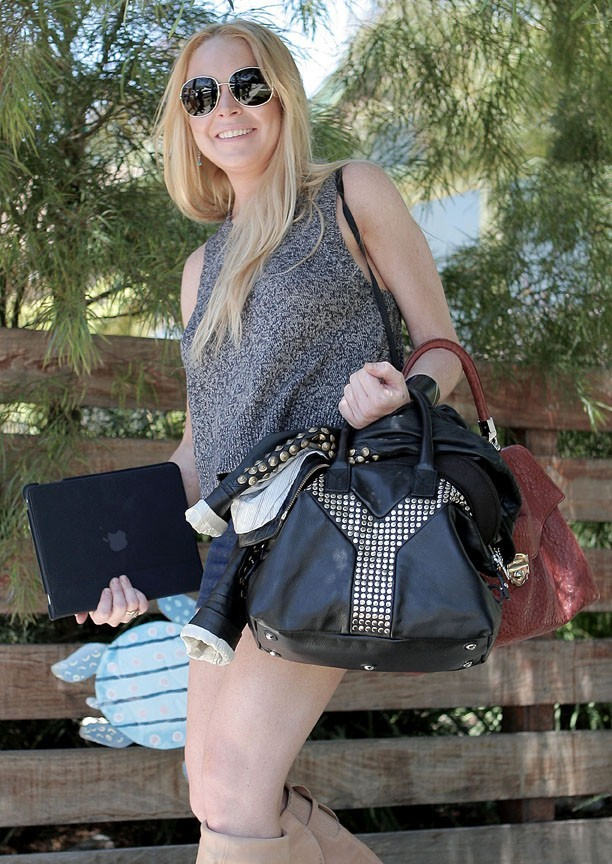Lindsay Lohan n'a pas volé son Ipad, elle le jure !