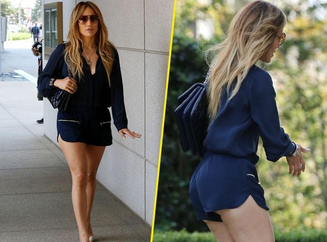 Jennifer Lopez : gambettes � l'air et booty � l'honneur pour une vir�e sous le soleil de L.A !
