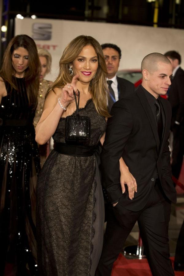Jennifer Lopez à l'UNESCO Charity Gala à Dusseldorf le 27 octobre 2012