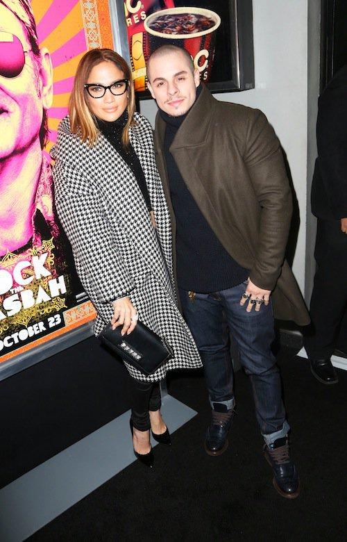 Photos : Jennifer Lopez joue les icônes rétro face à son toy boy Casper Smart !