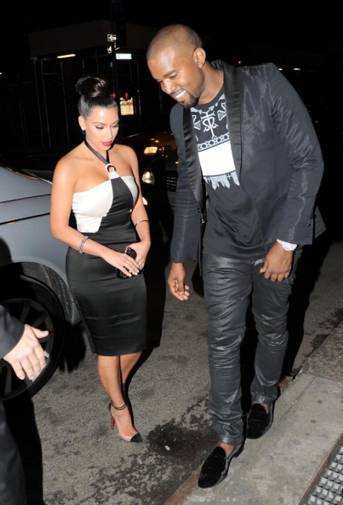 Kim Kardashian et son nouveau boyfriend Kanye West
