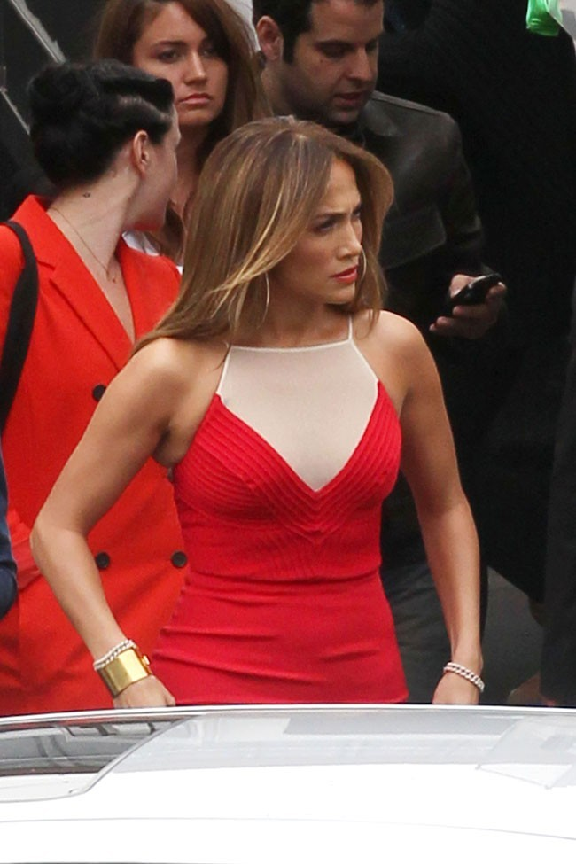 Jennifer Lopez le 2 mai 2012 à Los Angeles