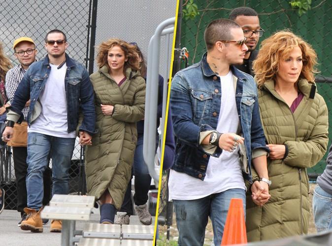 Jennifer Lopez  : main dans la main avec son boyfriend sur le tournage de sa s�rie !