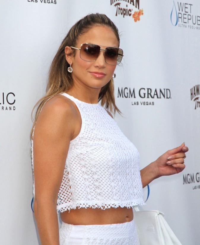 Jennifer Lopez, Las Vegas, 18 aout 2012.