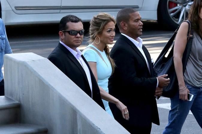 Jennifer Lopez à Hollywood le 19 mars 2014