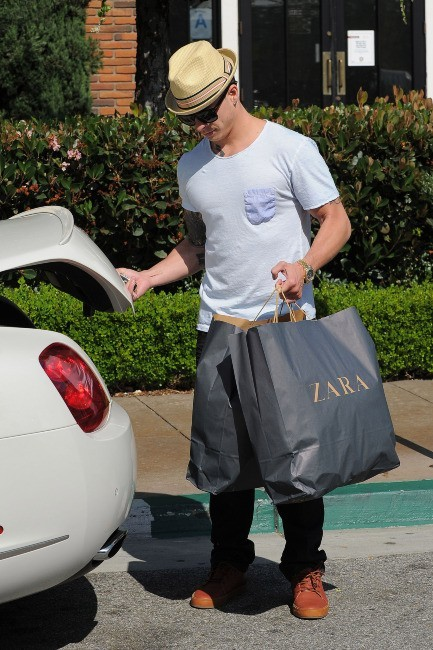 Casper Smart à Los Angeles, le 20 mai 2012.