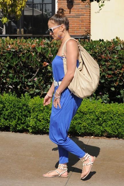 Jennifer Lopez à Los Angeles, le 20 mai 2012.
