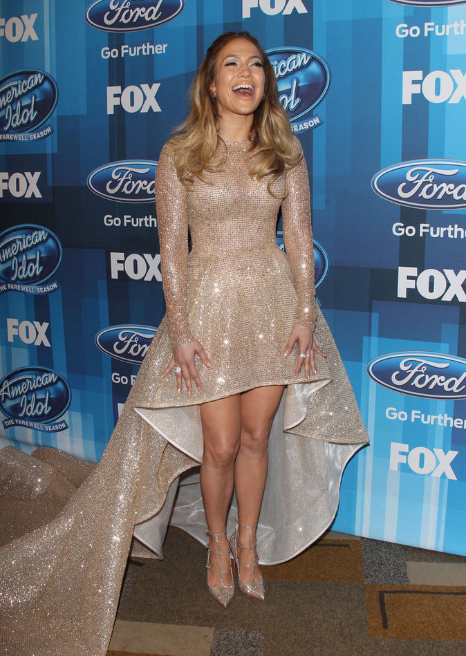 Photos : Jennifer Lopez sort le grand jeu pour la finale d'American Idol !