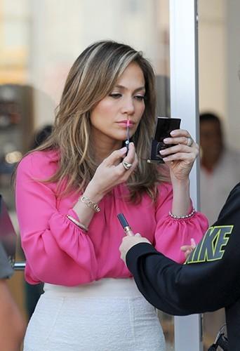 Jennifer Lopez à New-York le 14 juin 2013