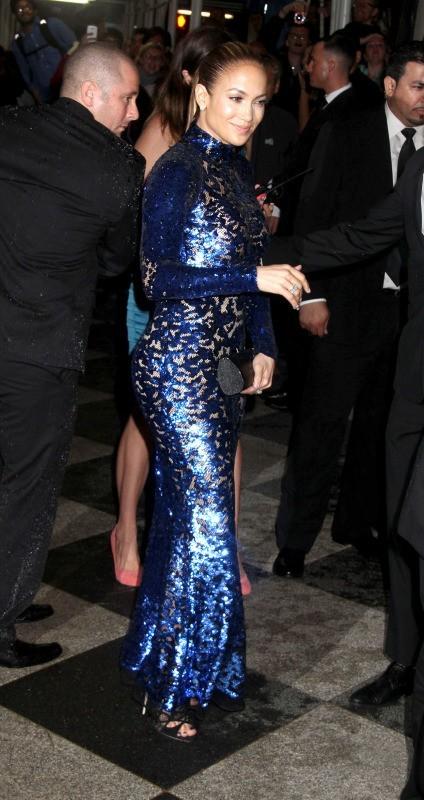 Jennifer Lopez lors de l'AmfAR Inspiration Gala à New York, le 13 juin 2013.