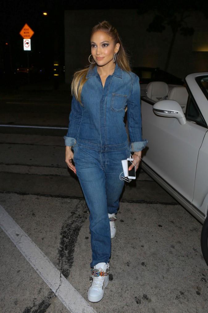 Jennifer Lopez le 12 mars 2015