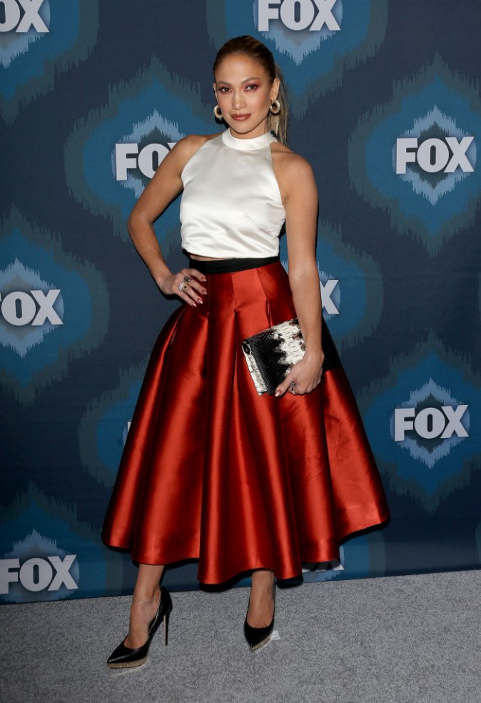 Photos : Jennifer Lopez : une diva caliente au Fox Winter TCA Tour !
