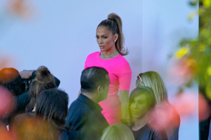 Jennifer Lopez à Hollywood, le 12 mars 2014.