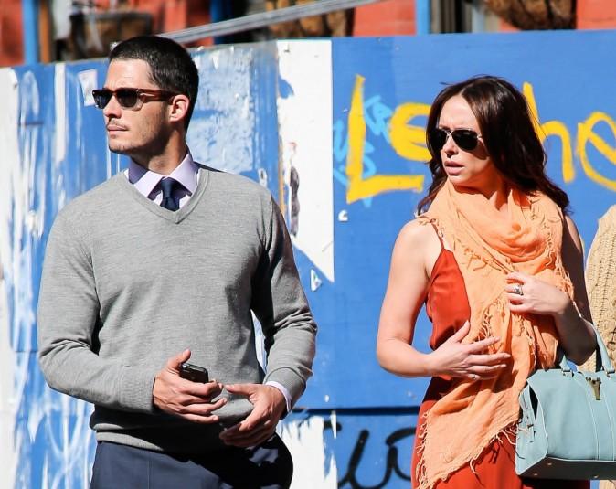 Jennifer Love Hewitt et son fiancé Brian Hallisay