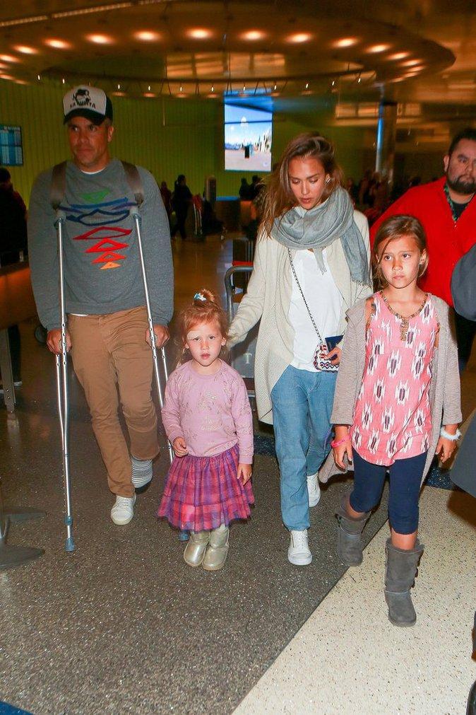 Jessica Alba : Sa fille et son mari bless�s apr�s leurs vacances au Mexique !