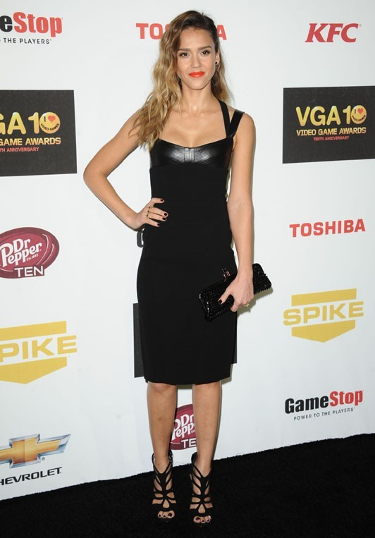 Jessica Alba aux Spike TV's 2012 Video Game Awards le 7 décembre 2012