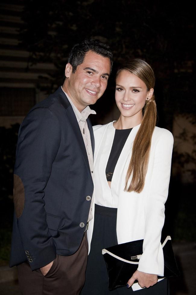 Cash Warren et Jessica Alba aux Environmental Media Awards 2012 le 29 septembre 2012