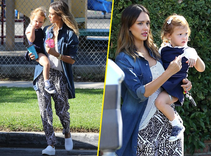 Jessica Alba : actrice et maman � plein temps !