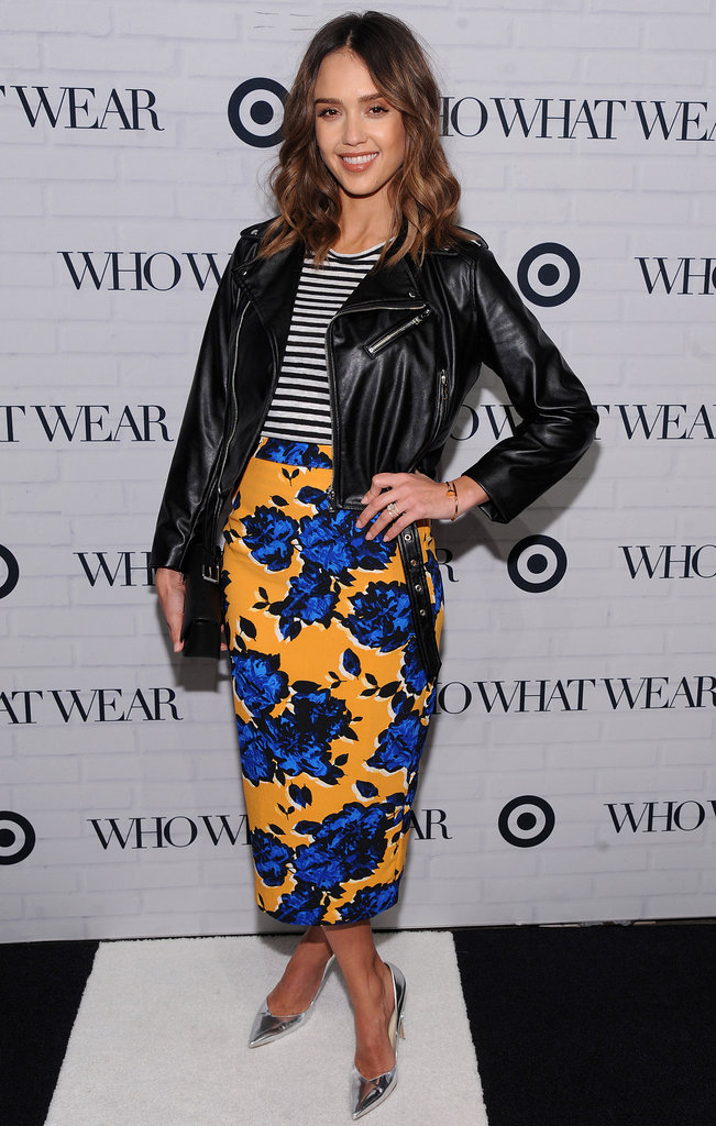 "Jessica Alba : Bombesque au ""Target Fashion Event"""