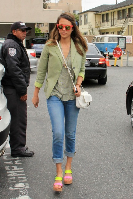 Jessica Alba à Santa Monica, le 12 juin 2012.