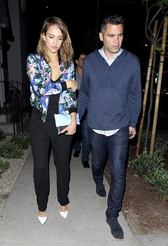 Jessica Alba et Cash Warren à Los Angeles le 2 mai 2014