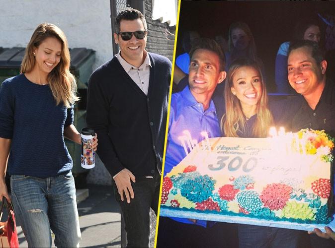 Jessica Alba : complice avec son mari, elle f�te les trois ans de son entreprise !