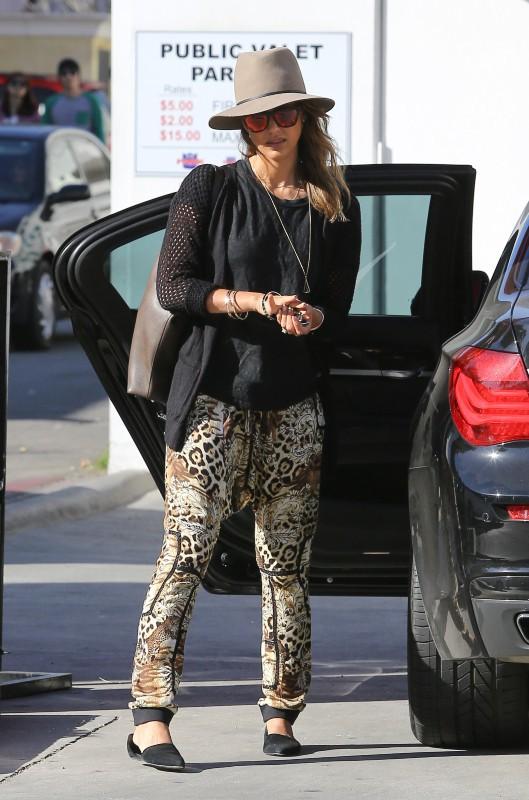 Jessica Alba à Beverly Hills, le 5 janvier 2014.