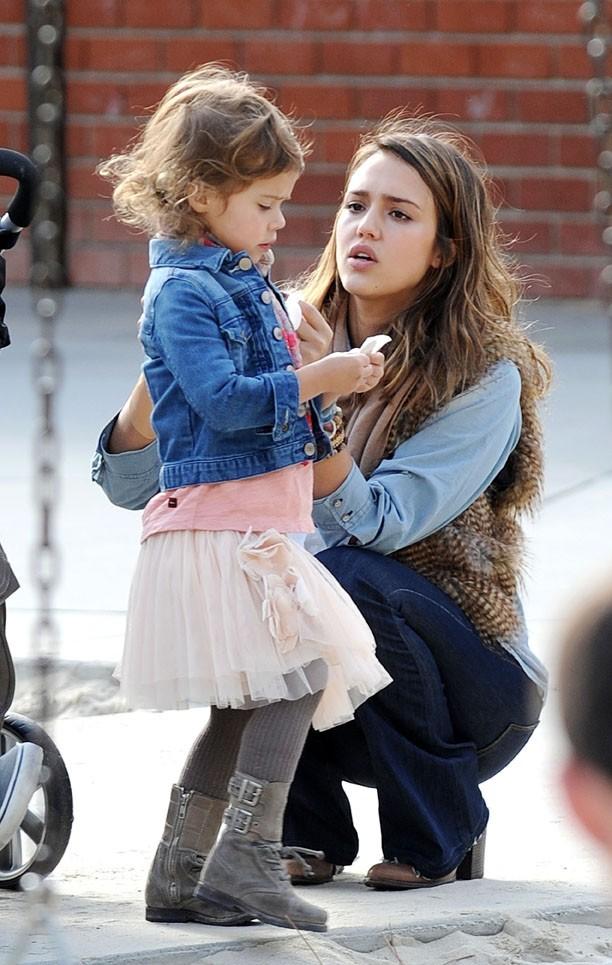 La super maman et sa petite Honor Marie !