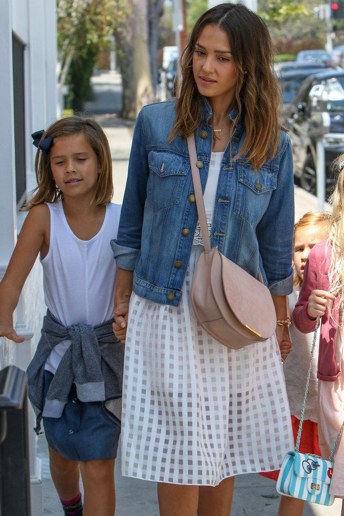 Jessica Alba et sa fille