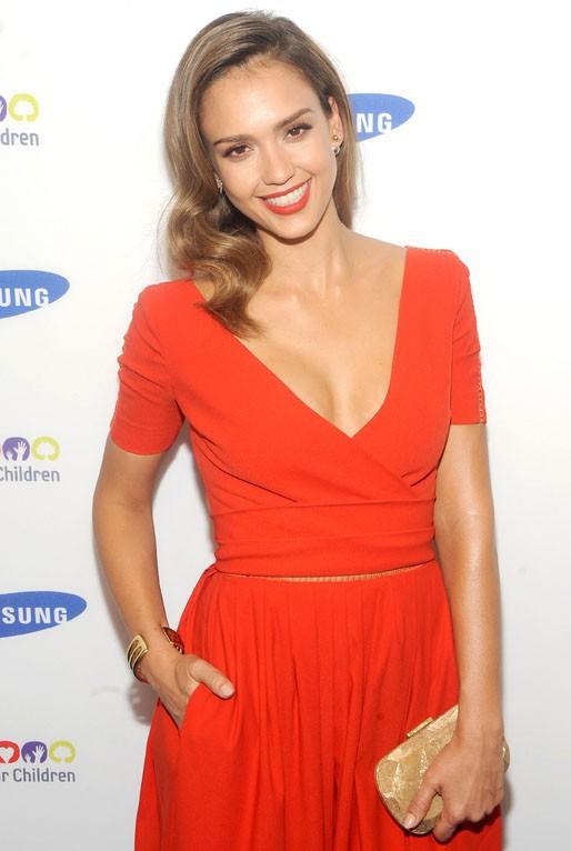 Jessica Alba au Samsung Hope For Children Gala organisé à New-York le 10 juin 2014e 10 juin 2014