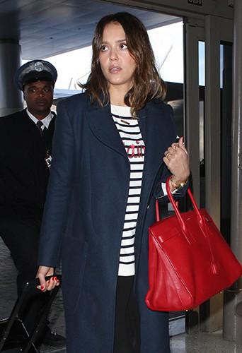 Jessica Alba à Los Angeles le 25 février 2014