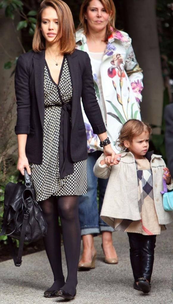 Jessica Alba et sa fille Honor Marie !