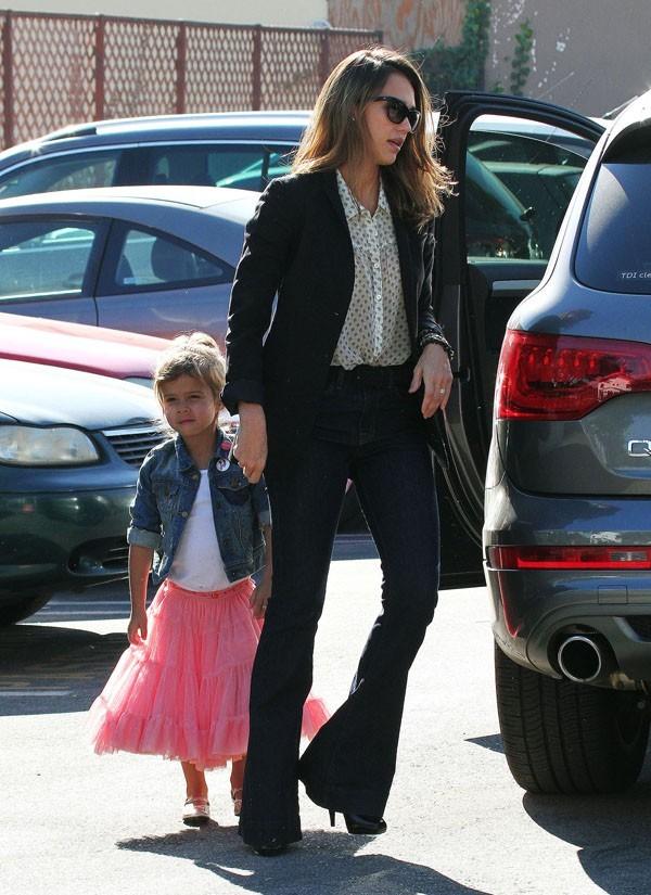 Jessica Alba et Honor Marie ont passé l'après-midi entre filles !