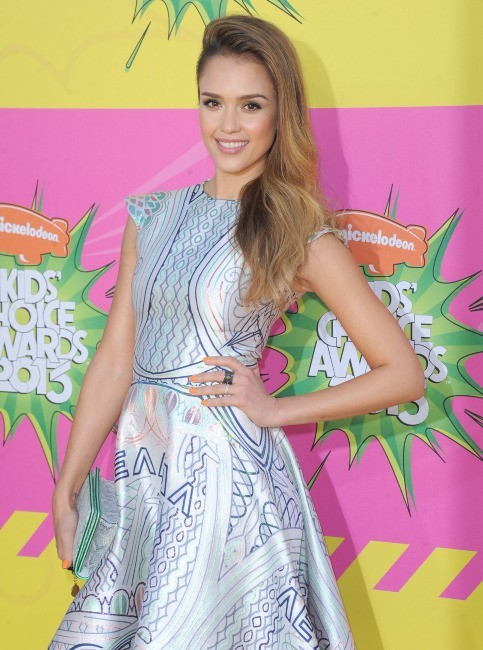 Jessica Alba lors des Kids' Choice Awards 2013