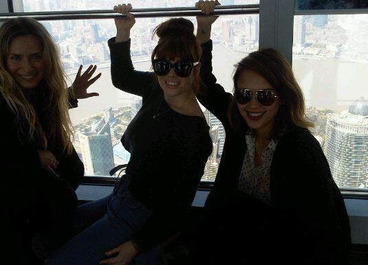 En route pour la plus haute tour d'observation du monde !