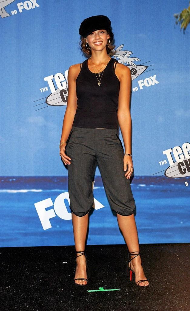 Jessica Alba à 20 ans : une vraie fashion victim !