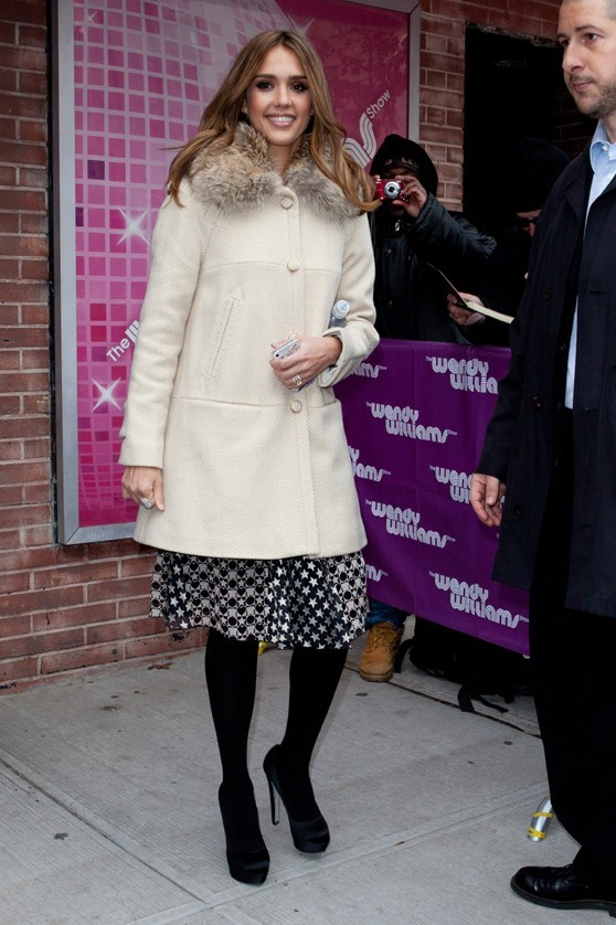 Jessica Alba pimpante à New-York !