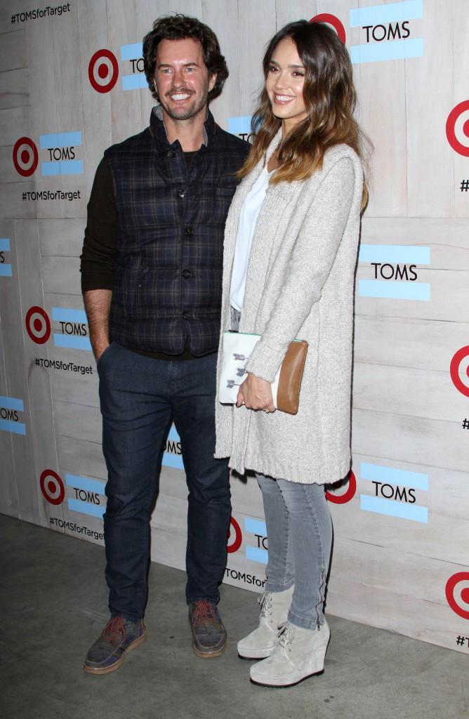 Jessica Alba et Blake Mycoskie le 12 novembre 2014