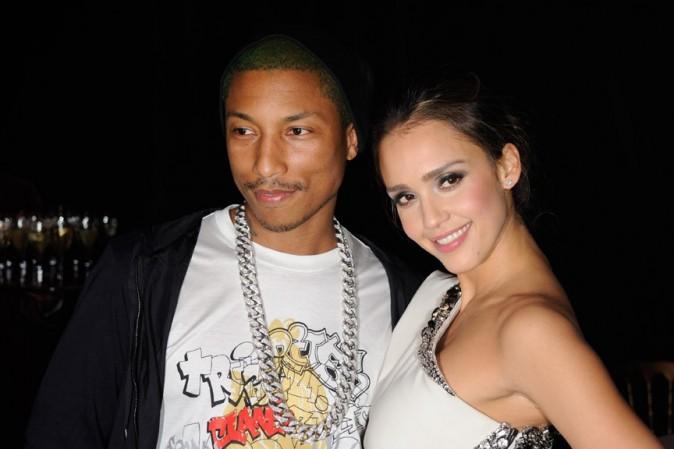 Avec Pharrell Williams