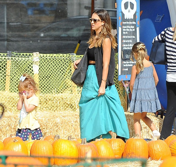 Jessica Alba le 12 octobre 2014