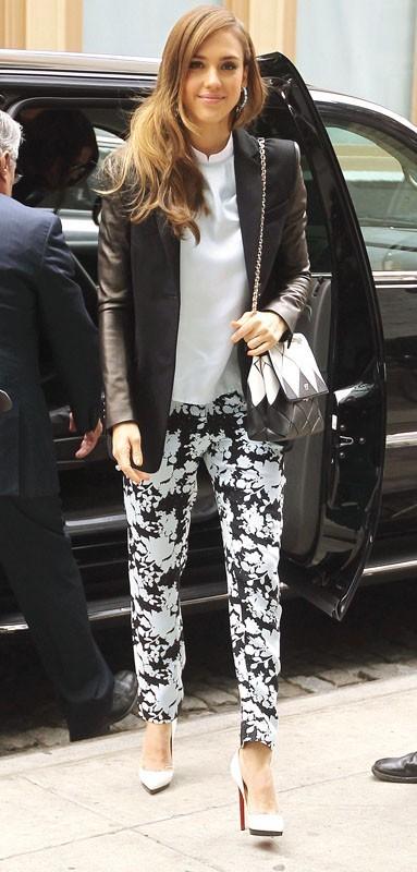 Jessica Alba sublime ce matin dans les rues de New York