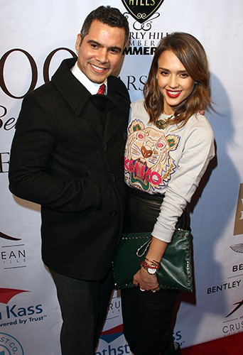 Cash Warren et Jessica Alba à Los Angeles le 5 février 2014