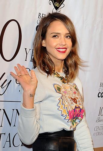 Jessica Alba à Los Angeles le 5 février 2014