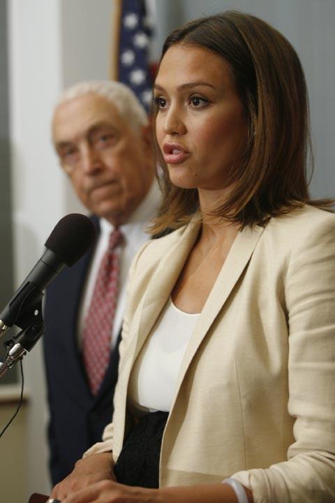 Elle a fait un discours convainquant à Washington !